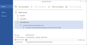 ApexSQL Restore 2016.01