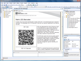Nevron Barcode for SSRS 2016.1