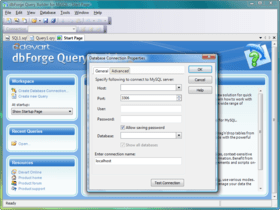 dbForge Query Builder for MySQL V4.1.11