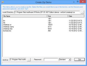 IP*Works! Zip .NET Edition 2016