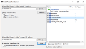 InstallAware Studio Admin X6