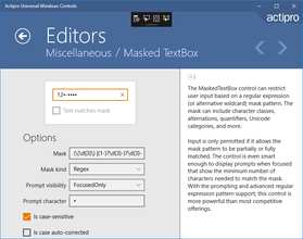 Actipro Editors for Universal Windows 2017.1 build 0310
