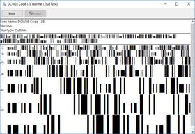 dFont Barcode Fonts for Windows - Code 128/EAN 128 V6.0