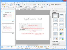 Aspose.Slides for .NET V17.4.0