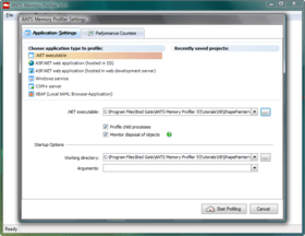ANTS Memory Profiler 8.11