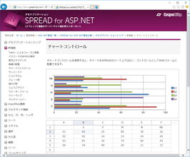 SPREAD for ASP.NET(日本語版)10.0J SP1