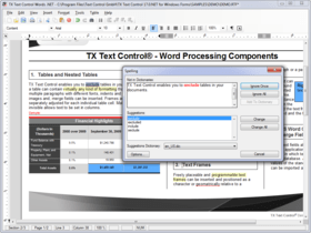 TX Spell .NET for WinForms and ASP.NET 6.0 SP2