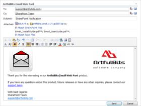 Email Web Part V2.1