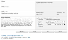 Password Expiration Web Part V2.0