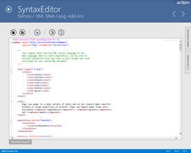 Actipro SyntaxEditor for Universal Windows 2017.1 build 311