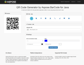 Aspose.BarCode for Java V17.6.0