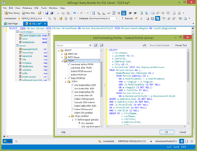 dbForge Query Builder for SQL Server V3.12.39