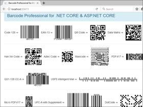 Neodynamic Barcode Professional for .NET Core V1.0