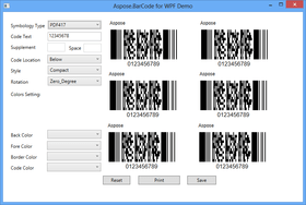 Aspose.BarCode for .NET V17.10