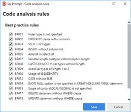 SQL Prompt Pro v9