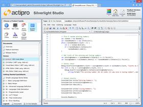Actipro SyntaxEditor for Silverlight 2017.2 build 0222