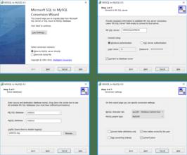 MS SQL Migration Toolkit 5.5