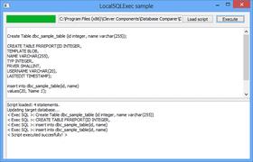 Database Comparer VCL V7.0
