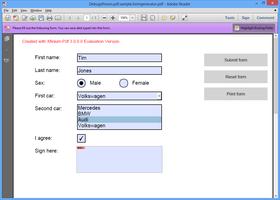 XFINIUM.PDF WPF/UWP/SL EDITION V8.1.0