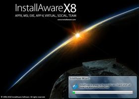 InstallAware Studio Admin X8