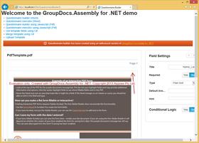 GroupDocs.Assembly for .NET V18.5