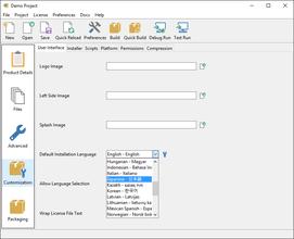 InstallBuilder for MAC OS X 18.5.2
