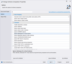 dbForge Schema Compare for Oracle v4.0.8