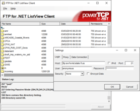 PowerTCP FTP for .NET V4.7.6.1