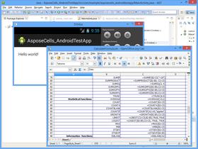 Aspose.Cells for Android via Java V18.9