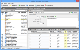 SQL Data Generator v 4.1.0
