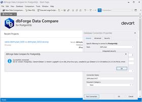 dbForge Data Compare for PostgreSQL V3.1.7