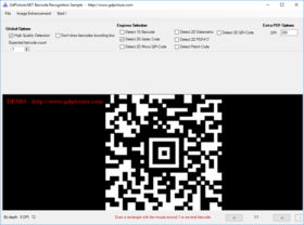 GdPicture.NET 2D Barcode Reader and Writer Plugin v14.0.72