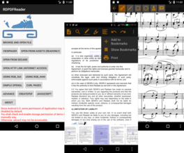 RadaeePDF for Android 3.50