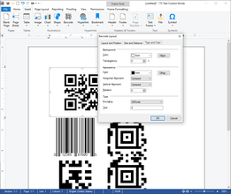 TX Barcode .NET for Windows Forms 5.0