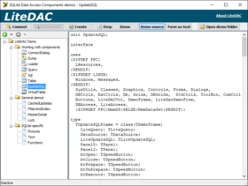 SQLite Data Access Components (LiteDAC) 3.4.9