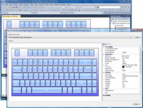 MindFusion.Virtual Keyboard for WinForms 4.5