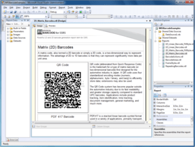 Nevron Barcode for SSRS 2019.1