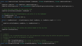 Xceed Real-Time Zip for Xamarin V6.7