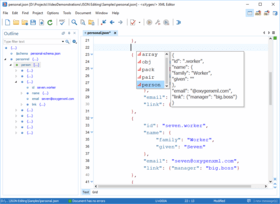 Oxygen XML Developer Enterprise V21.0