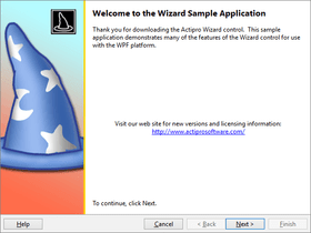 Actipro Wizard for WPF 2018.1(ビルド0675)