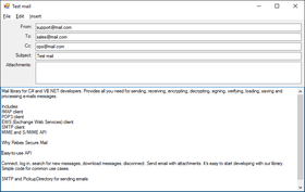 Rebex Secure Mail for .NET 2019 R1