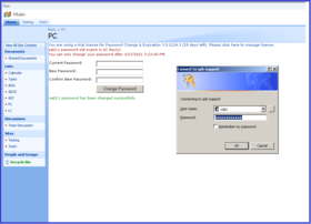 SharePoint Password Change and Expiration v3.12