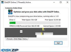 InstallAware DiskZIP released