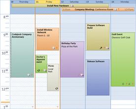 Codejock Calendar ActiveX v19.0.0