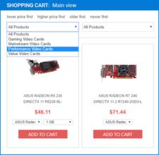 ArtfulBits Shopping Cart V2.2