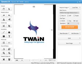 Dynamic .NET TWAIN 8.1