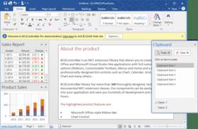 BCGControlBar Library Professional Edition MFC v30.3