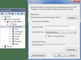 dotConnect for Zoho CRM V1.10.1098