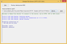 Rebex File Server 2020 R1.1