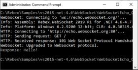 Rebex WebSocket for .NET 2020 R1.1